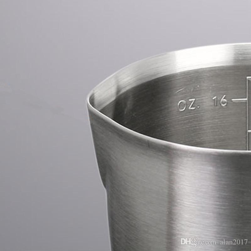 Ispessimento di 304 acciaio inossidabile Scala Misurino Tazza di Ghirlanda Utensili da cucina Taza De Medir