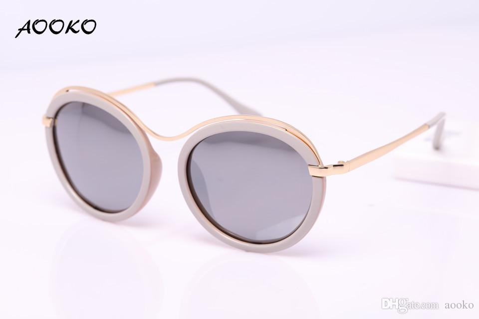 5d28d0975f AOOKO AK7910 New Fashion Uv Protection Sunglasses Women Round Oculos De Sol Apparel  Accessories Eyewear Lady Ms. Sun Glasses For Women Bifocal Sunglasses ...