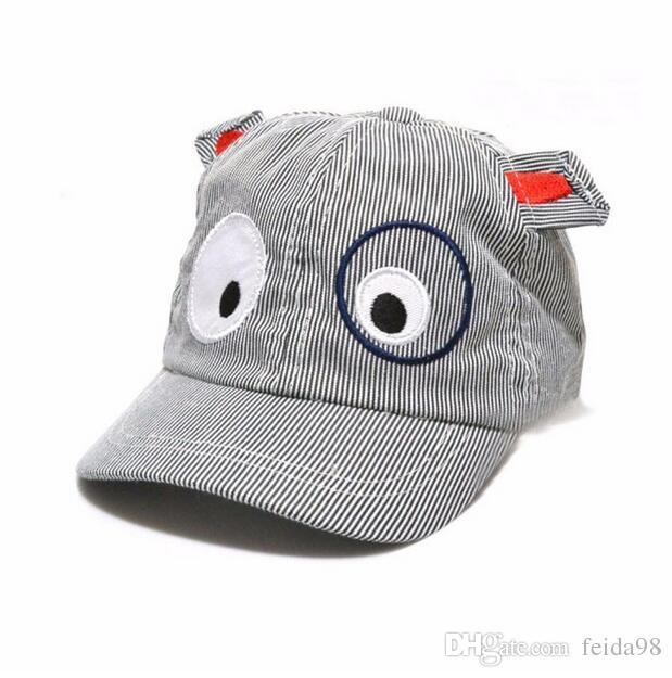 2017 Çocuk Erkek Kız Sevimli Karikatür Köpek Şapka Güneş Şapka Beyzbol Şapkası bebek fotoğraf sahne bebek kaput çocuk şapka bonnet enfant G594