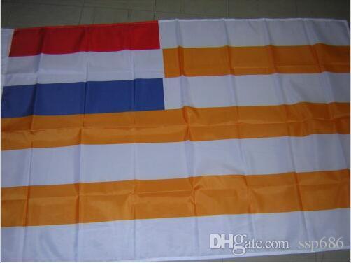 Bandiera dell'Orange Free State 1854-1902 Bandiera del Sud Africa 3ft x 5ft Poliestere Banner Flying 150 * 90cm Bandiera personalizzata esterna