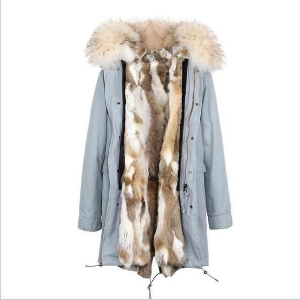 5a444b86b85 ОПИСАНИЕ. Jazzevar Марка Женщины снеговые пальто белый меховой воротник ...