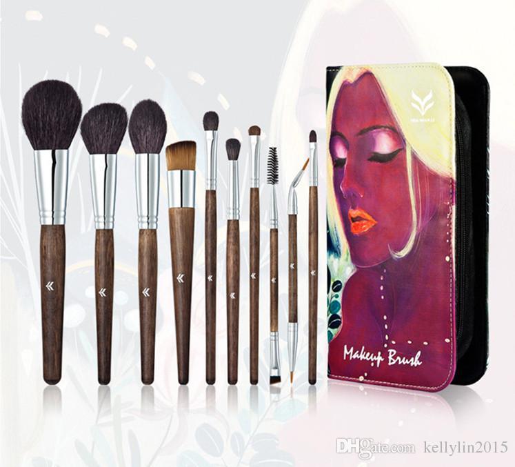 Makeup Brushes Sets Kit Huamianli Art Illustrator Brush Foundation