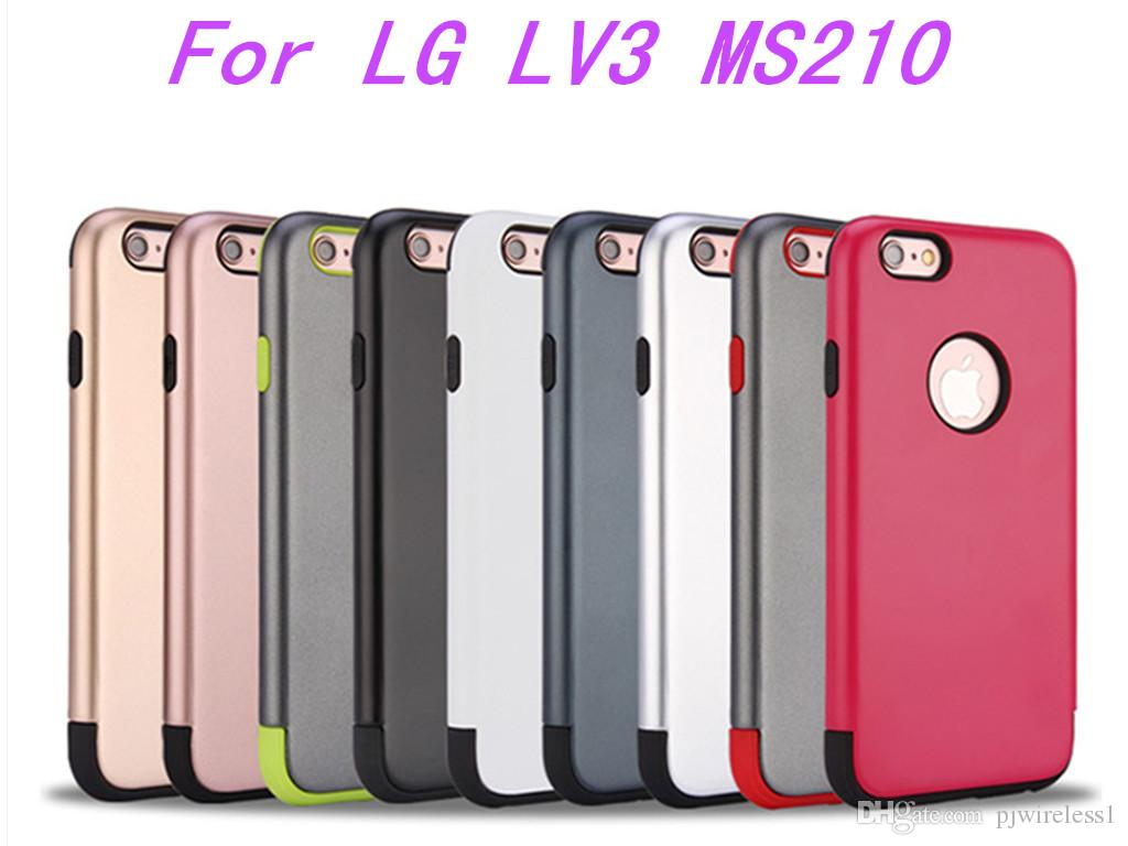 reputable site 4c96d 52f00 For LG Aristo Metropcs LV3 V3 MS210 K8 2017 Armor Hybrid Case iphone 7 plus  zte zmax pro z981 Shockproof Rugged Back Cover