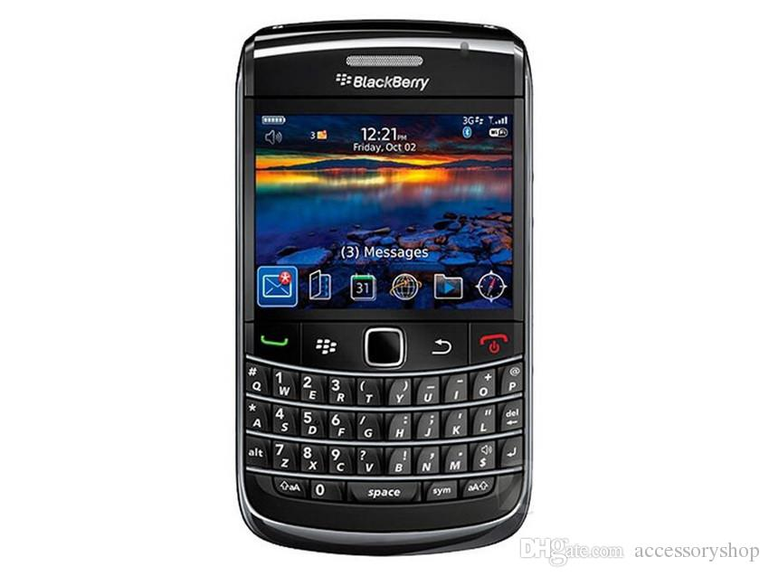 Refurbished Original Blackberry Bold 9700 Unlocked Mobile Phone 3G Smart Phone 2.44 inch 3.15MP Camera WIFI GPS Qwerty Keyboard DHL