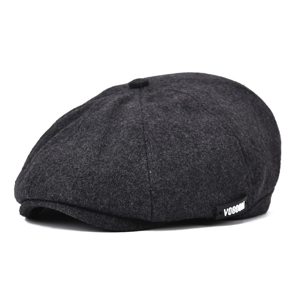 4b89aa96e46d Wholesale-Voboom Mens Gatsby Cap Hat Flat 8 Panel Mens Country Baker Boy  Newsboy Cap Beret Hat BL029