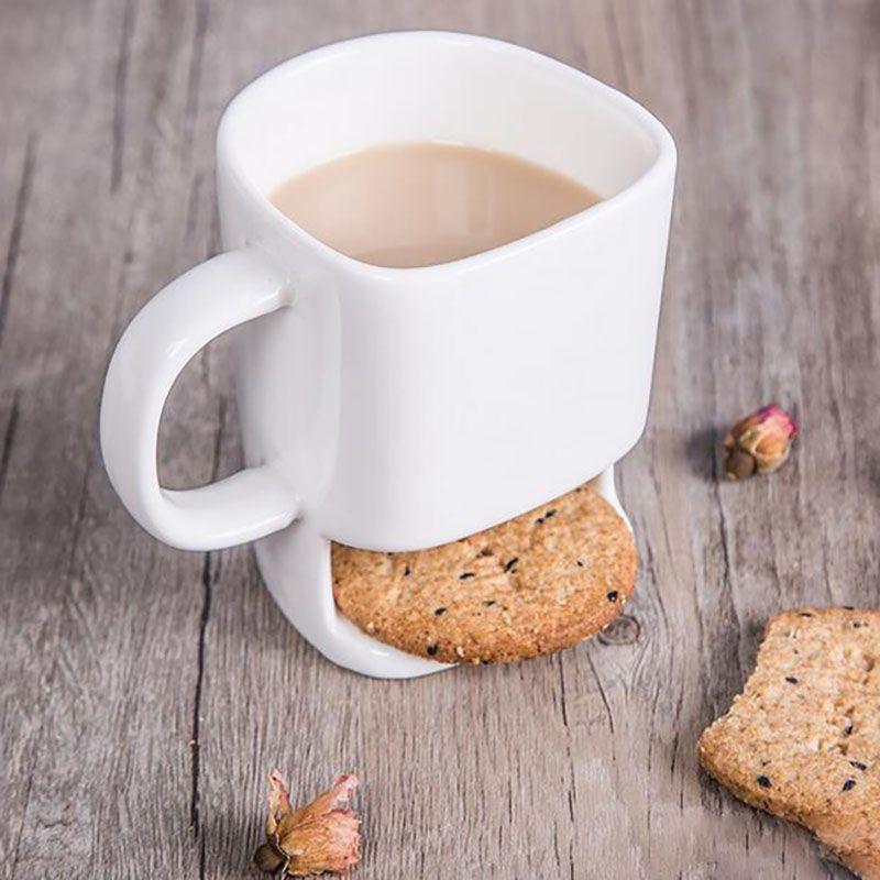 Bottom Office Céramique Cookie Titulaire Xl En 227 Thé Pockets Biscuits Stockage Lait Tasses Pour Home À Tasse Café Dessert m80wOnvN