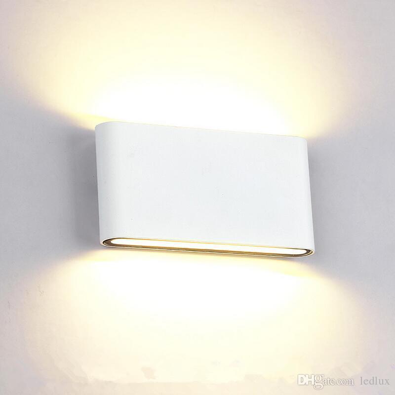 New Falcate 8w 14w Led Outdoor Wall Light Ip65 Waterproof Wall Lamp