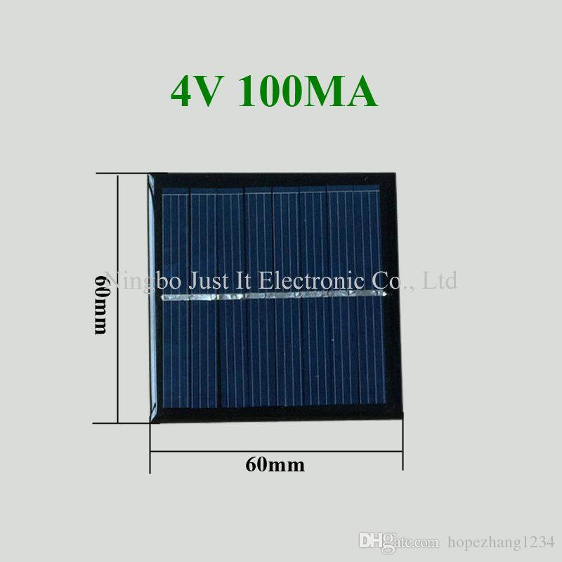 Integrated Circuits 100% Quality Solar Panel 0.5w 5v Portable Module Diy Small Solar Panel For Cellular Phone Charger Home Light Toy Etc Solar Cell