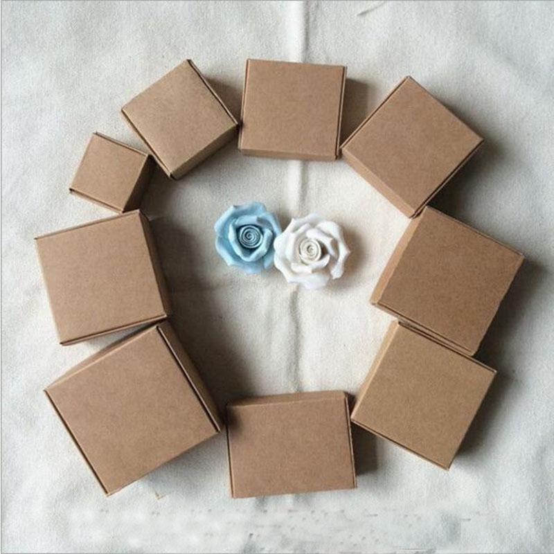 Grosshandel Kraftpapier Geschenk Verpackung Box Fur Schmuck Diy Seife