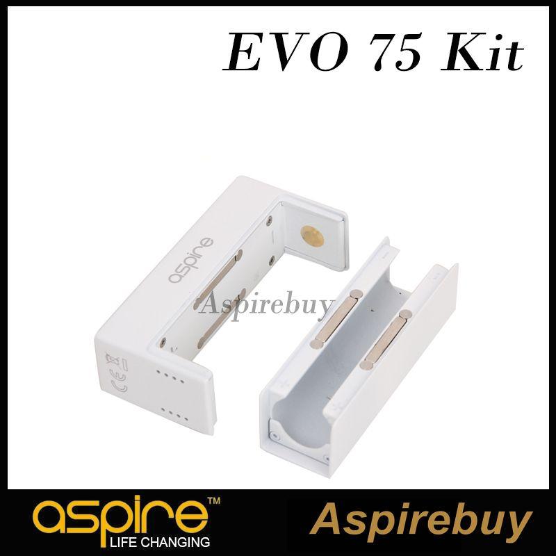 Kit Aspire EVO75 avec fonction CFBP NX75-Z Mod et réservoir Atlantis Evo 2ML avec bobines Clapton de 0,4 à 0,5 ohms 100% d'origine