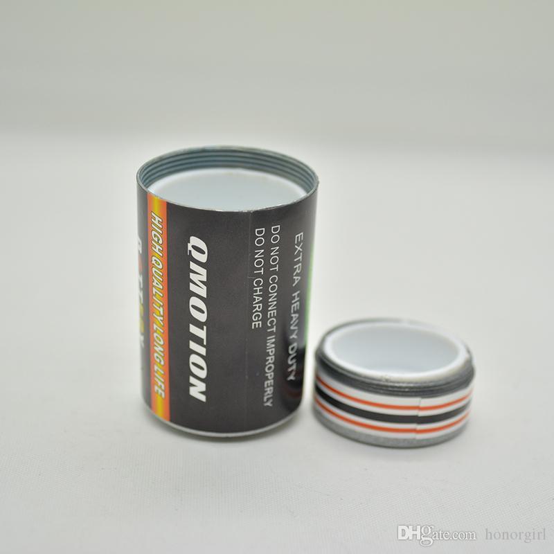 Secret Stash Diversion Pill Box Case Batterie En Forme de Taille Moyenne Herbe Bocal De Stockage De Tabac Contenant Caché 25x49mm En Alliage de Zinc
