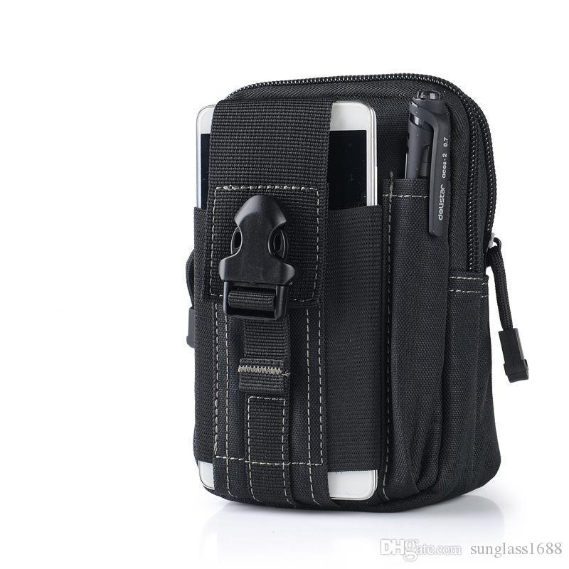 Büyük Kapasiteli Taktik Molle Kılıfı Kemer Bel Paketi Çanta Cep Iphone için meizu Samsung pro HUAWEI Askeri Bel Fanny Paketi Cep