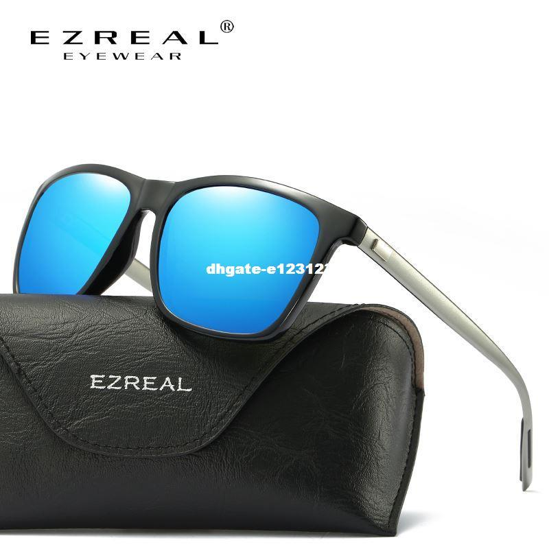 292d2fe6eea5 DHgate Brand Classic Polarized Sunglasses Men Driving Square Black ...