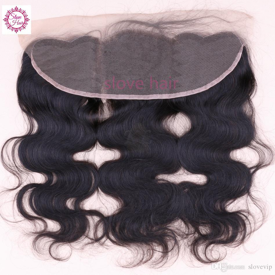 8A Grade Unprocessed Brazilian Virgin Hair Bundles With Lace Frontal Body Wave Lace Frontal Closure With Bundles Fast Shipping