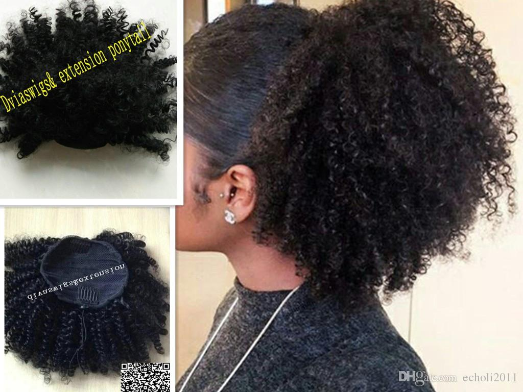 Natural Hair With African Clip Jewelry