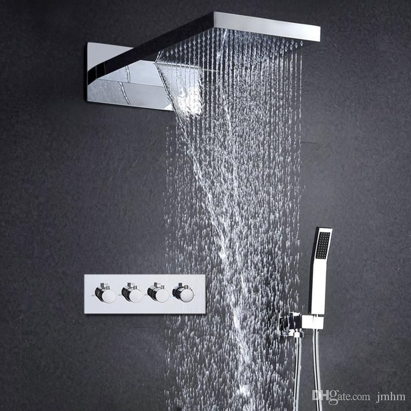 Grosshandel 2017 Europa Moderne Dusche Set 3 Funktion In Wand Dusche