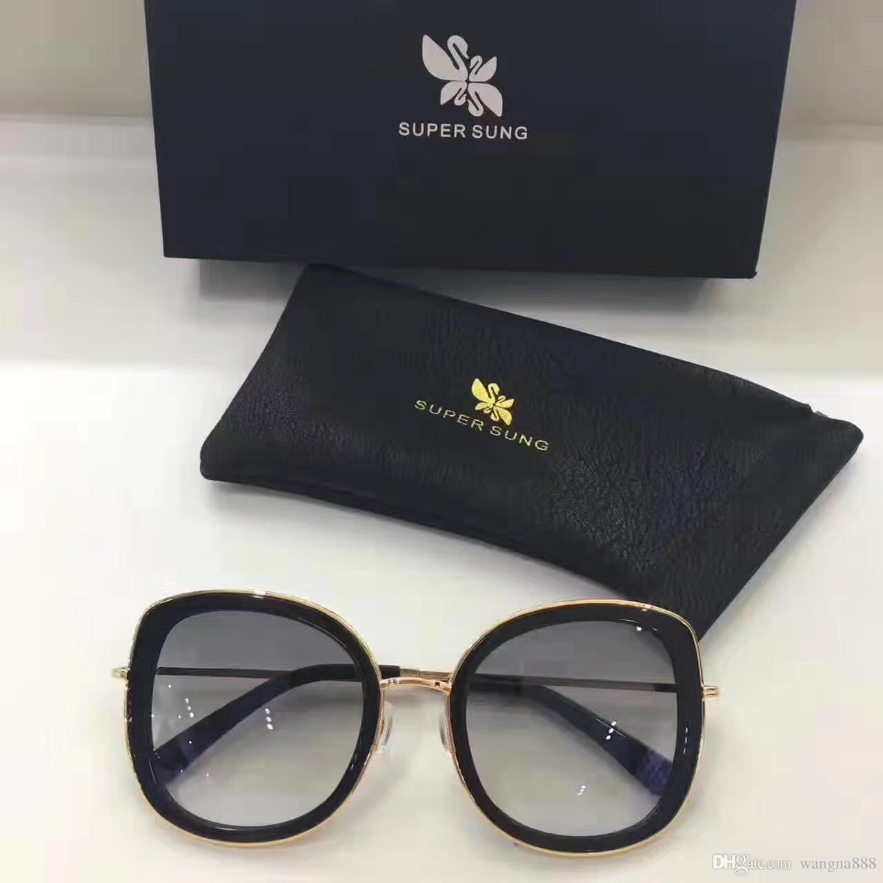 d49972dee3b Luxury Sunglasses Popular Italy SUPER SUNG Fashion Sunglasses Top Quality  Special Sunglasses Women Design UV Protection Come Case 001 Sunglasses At  Night ...