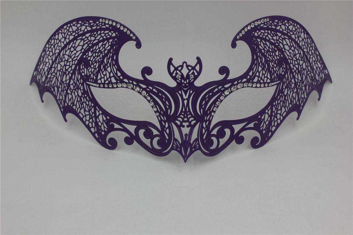 Phoenix Phantom Halloween Wedding Party Mask Golden Metal ...