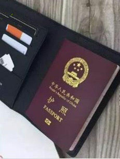 Las mujeres de cuero pasaporte marca marca titular de la tarjeta de credt hombres pasaporte de negocios titular de la cartera cubre para pasaportes carteira masculina