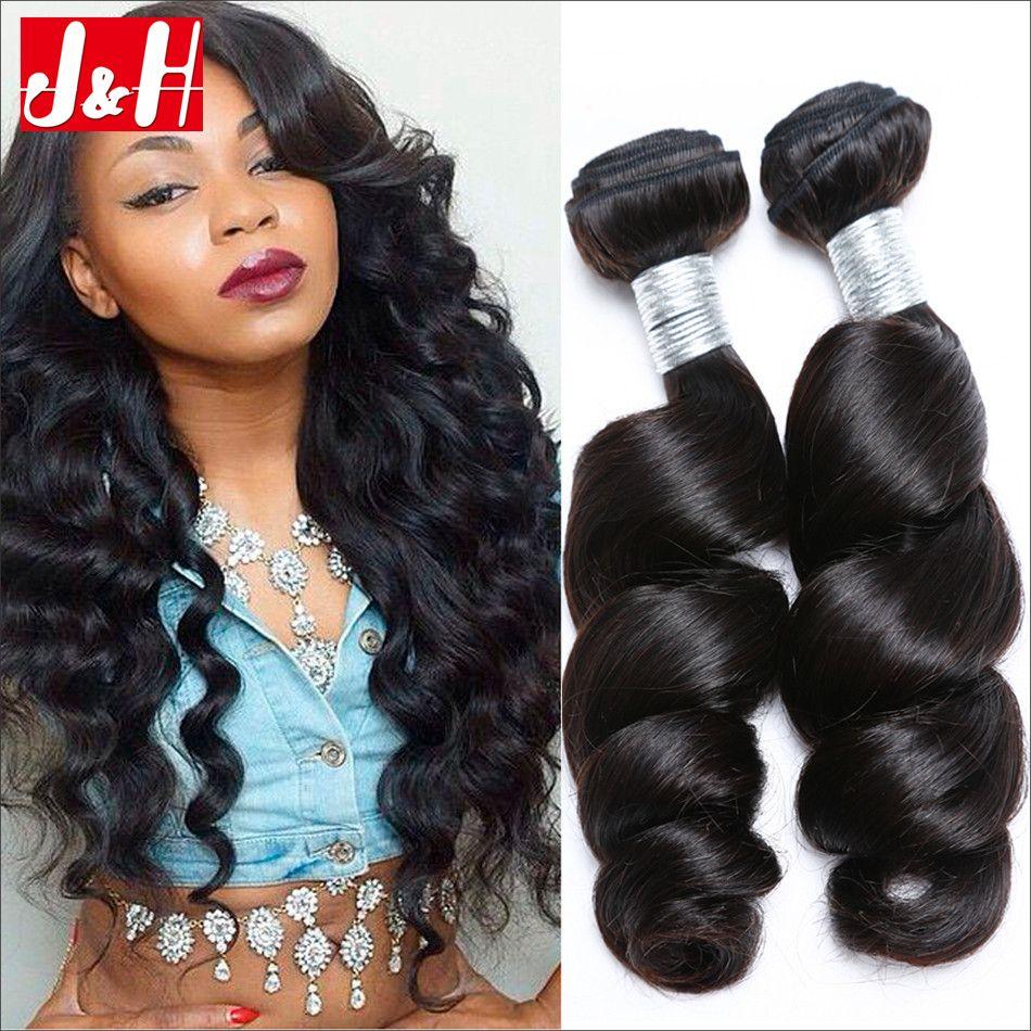 Mix 8 20inch Brazilian Loose Wave Human Hair Weaves 8a 100