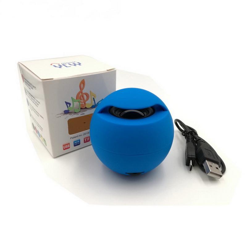 Magic Ball Bluetooth Mini Speaker Wireless Portable Subwoofers Stereo Sound Box TF MP3 Music Player FM Handsfree for Phone 165