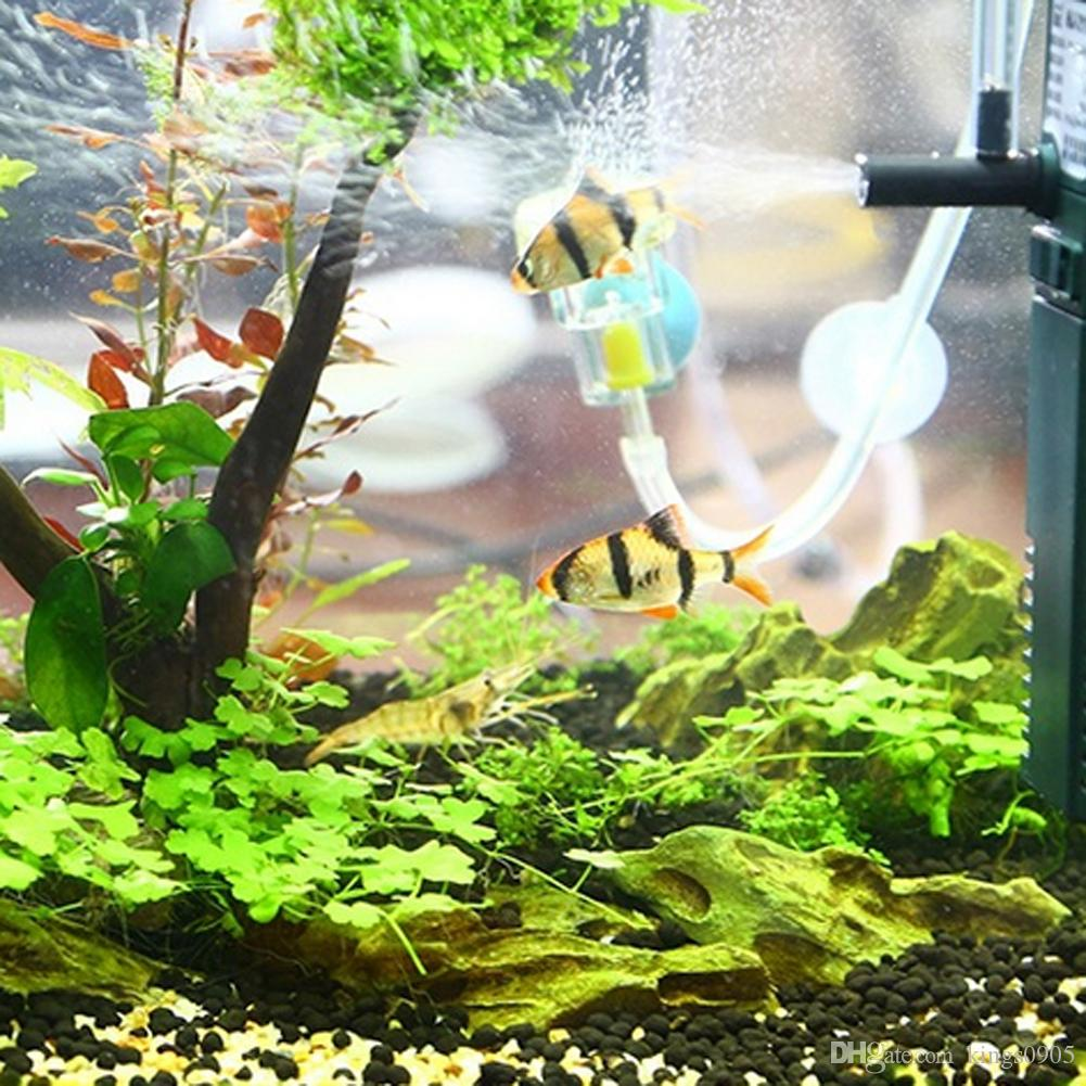 3W 8W 16W Aquarium Internal Filter for Fish Tank Submersible with Spray Bar Aquarium Pump Filter 300L/600L/800L/h