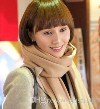 Compre Feminino Coreano De Lenço De Lenço De Caxemira De Alto Padrão  Inverno Longo Amantes De Todos Os Fósforos Uma Tira Longa ddfabbfb11de0