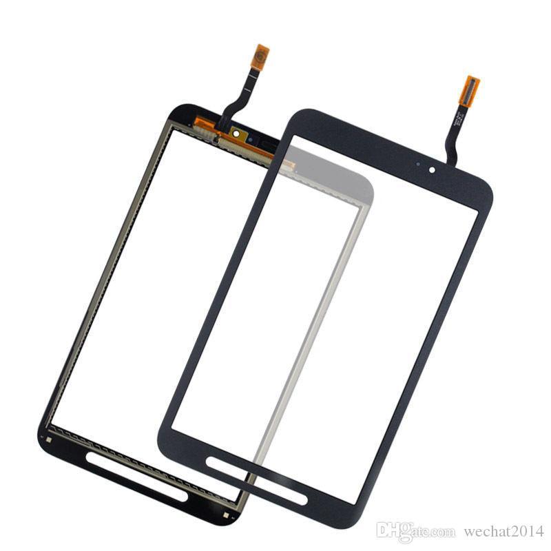 Obiettivo di vetro del convertitore analogico / digitale del touch screen con adesivo del nastro Samsung Tab A 7.0 T285 Tab E Active 8.0 T360 DHL libero
