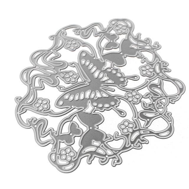 Heißer Stil Metall Stanzformen für DIY Scrapbooking Stanzungen Papier Karte Handwerk Präge Metall Dies