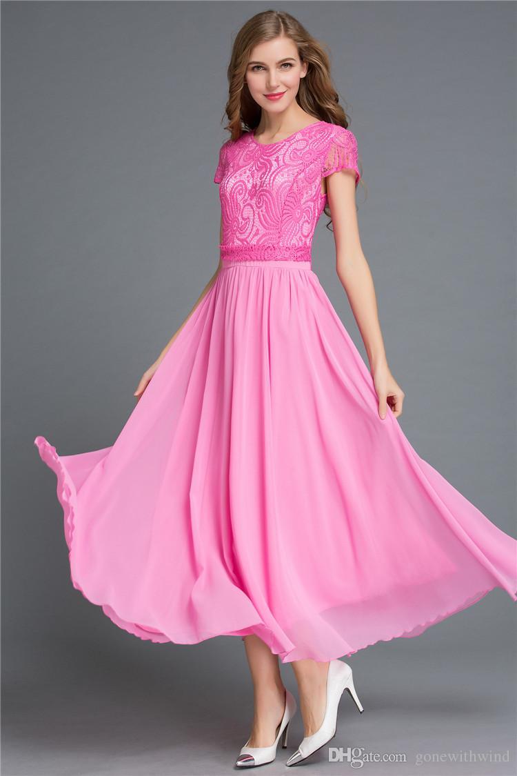 2016 Best Selling Cheap Boho Bridesmaid Dresses Prom Dresses For ...