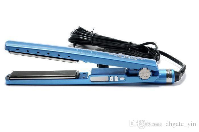 2017 NEW! PRO Na-No! TITANIUM 1 1/4 plate Flat Iron Ionic Hair Straightener DHL