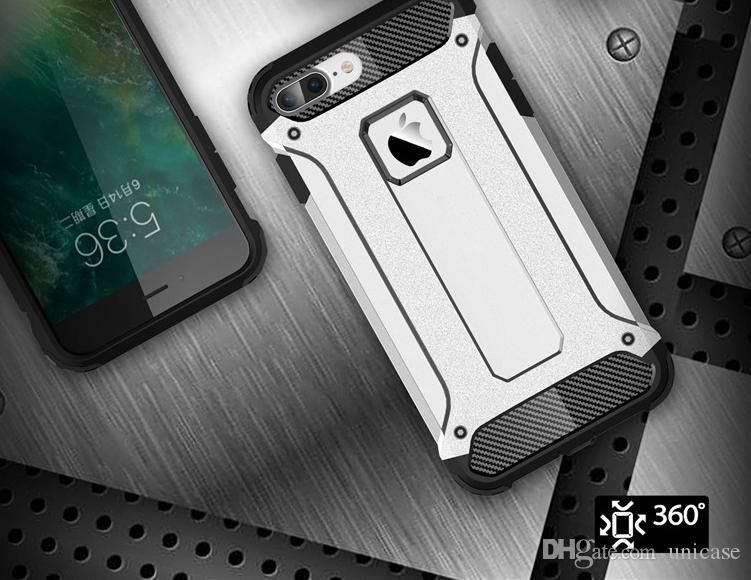 Hybrid Impact Double Layer Armor Defender Case Cover For Samsung Note5 S7 edge Iphone7 Cell Phones Protector Cover Cases DHL Fast Shipping
