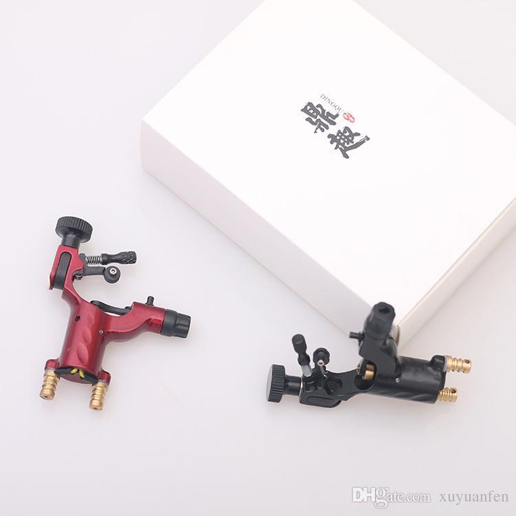 Black/red Rotary Tattoo Machine Shader & Liner Rotary Gun Assorted Tatoo Motor Gun Grips Kits Tattoo equipment
