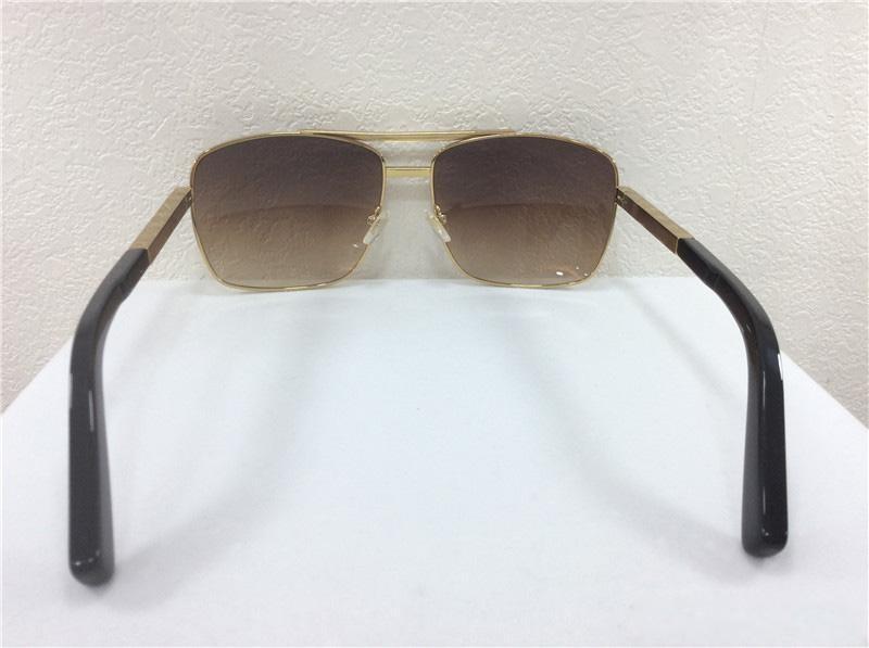 Yeni erkekler marka tasarımcısı sunglass tutum güneş gözlüğü kare logo on lens büyük boy güneş gözlüğü kare çerçeve açık serin deisgn