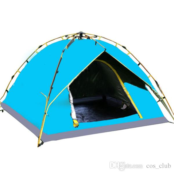 The New Outdoor Tent 3 4 People Automatic Tents Rainstorms Many People Wild C&ing Mountaineering C&ing Tents Puppy Shelter Animals Shelter From Cos_club ...  sc 1 st  DHgate.com & The New Outdoor Tent 3 4 People Automatic Tents Rainstorms Many ...