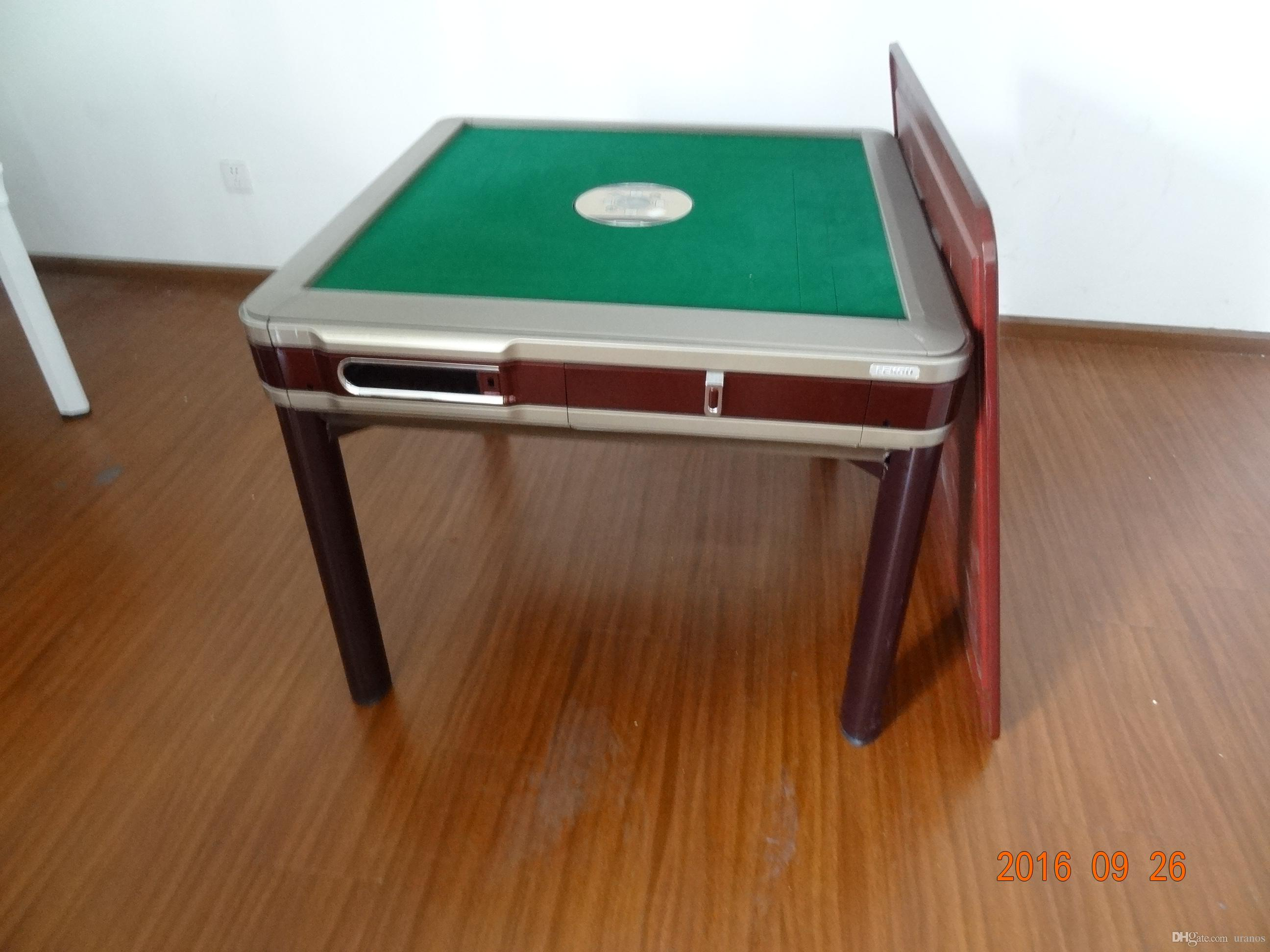 2017 2017 New Rolloer Coaster Style Automatic Mahjong Table With