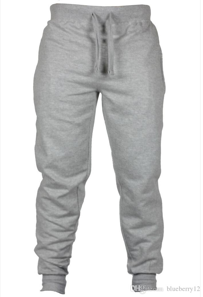 Jogger Calças Chinos Skinny Joggers Camuflagem Homens Nova Moda Harem Pants Longo Calças De Cor Sólida Calças Dos Homens