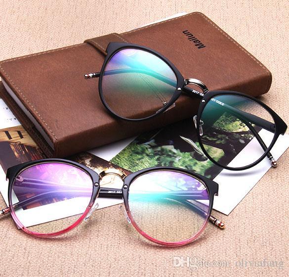 e0343d0448 Wholesale Retro Round Eyeglasses Frame Women Brand Designer Fashion ...