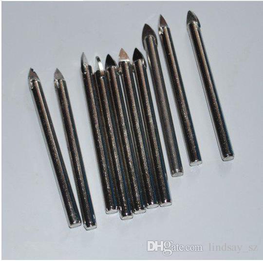 Niedrigster Preis / 6.5mm Wolframcarbid TCT Glasfliesenbohrer-Bohrersatz