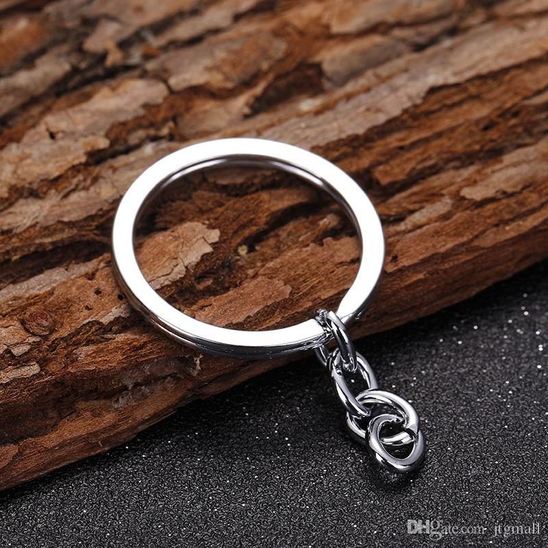 Key Rings High Quality 2.0x30 Strap with 4 Stall Chain Hoop Key Chain Strap Key Chain