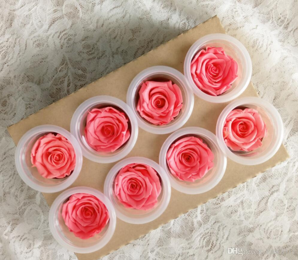4-5cm Preserved Flower Rose Bud Head For Wedding Party Holiday Birthday Velentine's Day Gift Favor Price: US $23.99 / / l