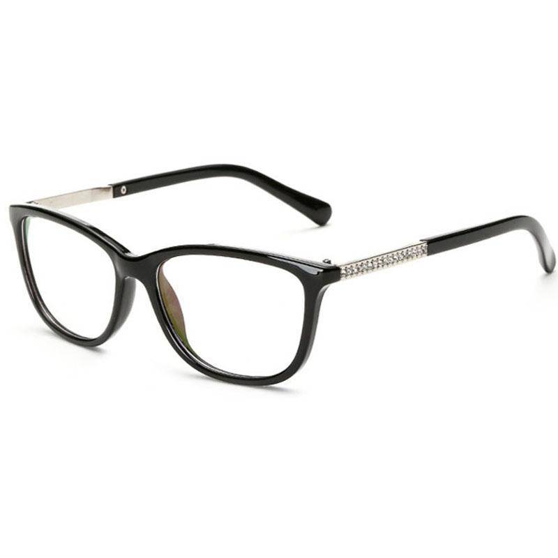 2018 eyeglass frames glasses frame eye frames for women men clear glasses womens optical clear lenses mens spectacle 2017 designer frames 3c6j15 from - White Frame Glasses