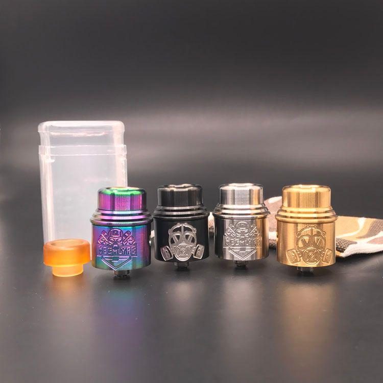 Apocalypse Mechlyfe RDA 24mm clon E-Cigarettes Vape E atomizadores de Cig más nuevo 510 hilo de alta calidad caliente Apocalypse DHL envío gratis