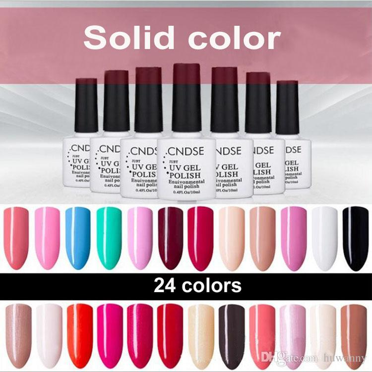 Nail Gel Polish New Style 10ml Solid Series Nail Gel Polishes Bobbi ...