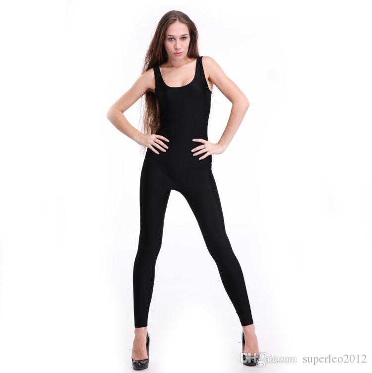 859ba24ae703 Women s Sleeveless Long Jumpsuits U Neck Tank Top Long Pants ...