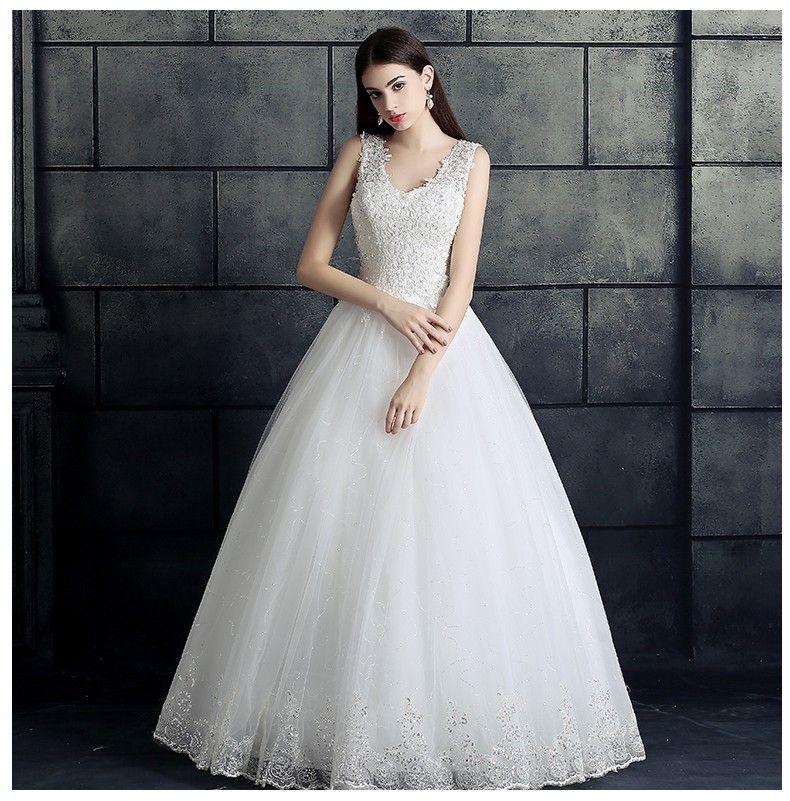 Großhandel Real Fotos Vestidos De Novias Hochzeit Ballkleider Sexy V ...