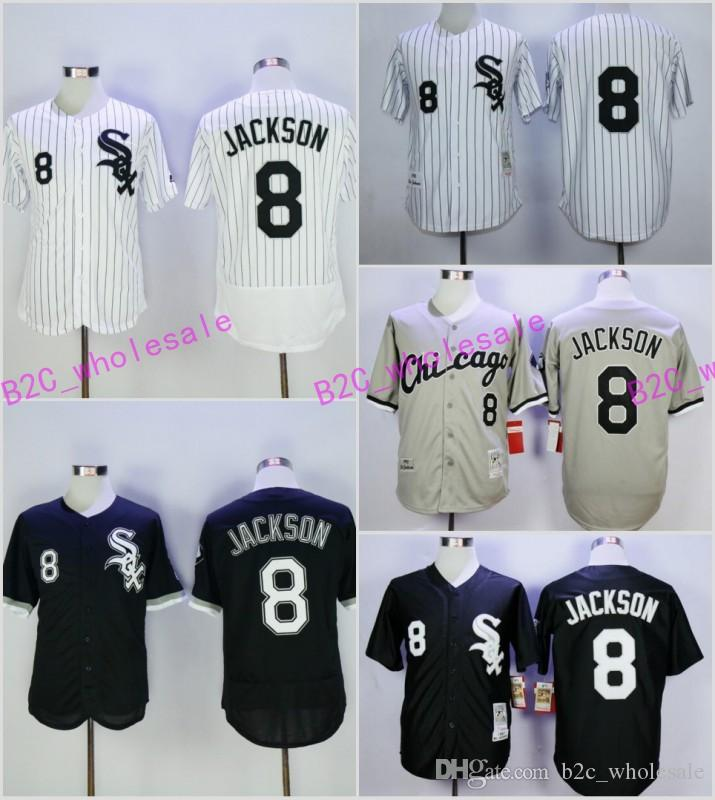 8d9cbbcbf14 ... throwback jersey  2017 chicago white sox bo jackson jerseychicago white  sox 8 jackson 1991 black throwback