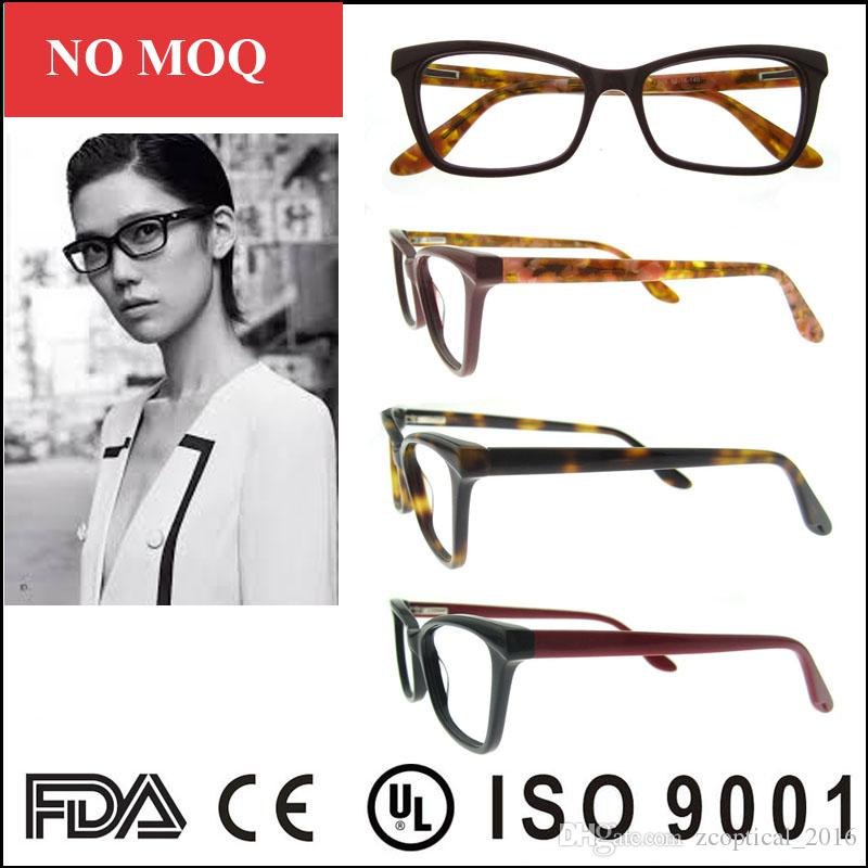 dbf1d0f7668 Italy Design Fashionable Acetate Full Rim Eyewear With Ce Fda Certification  Hot Online Wholesale Women Glasses Frames Naturally Rimless Eyeglass Frames  Oga ...
