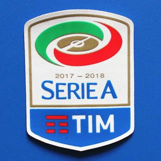 2019 2017 2018 Italian Serie A Football League Patch Soccer Patch