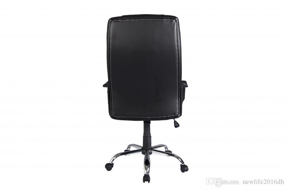 Miraculous New Black Pu Leather High Back Office Chair Executive Task Ergonomic Desk Cjindustries Chair Design For Home Cjindustriesco